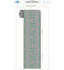BOLSA / GUANTE DE PLASTICO 21 X 30 cm