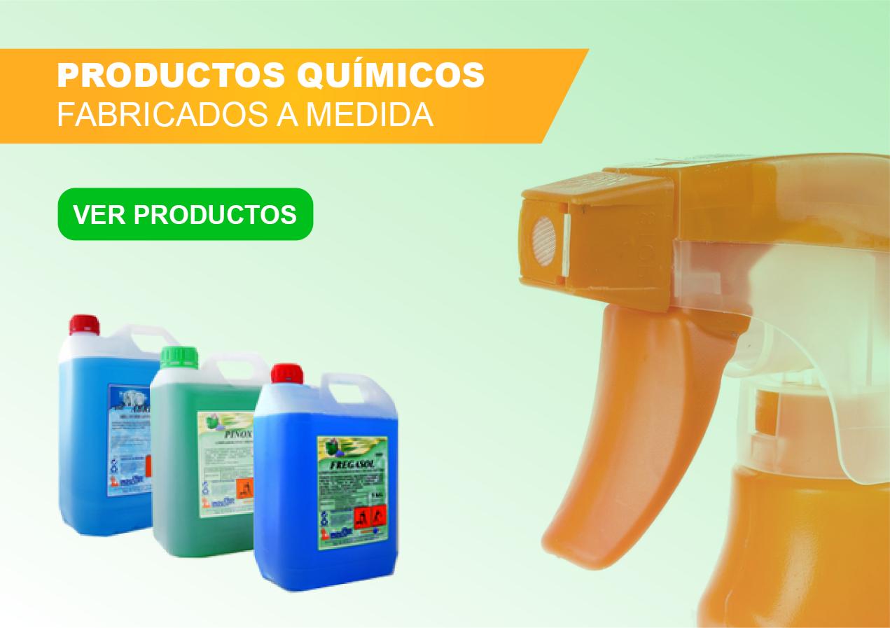 Productos químicos hechos a medida